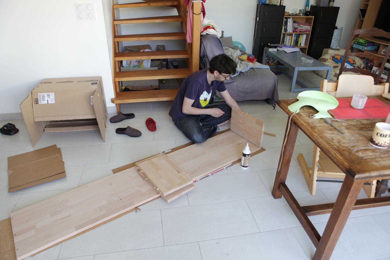 construction du nouveau meuble tv le blog de fifi et doudou. Black Bedroom Furniture Sets. Home Design Ideas