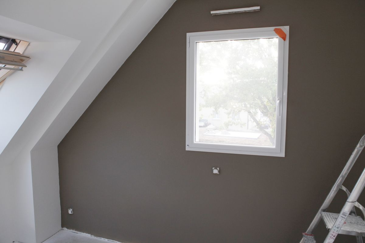 Trending chambre couleur taupe - Chambre peinture taupe ...