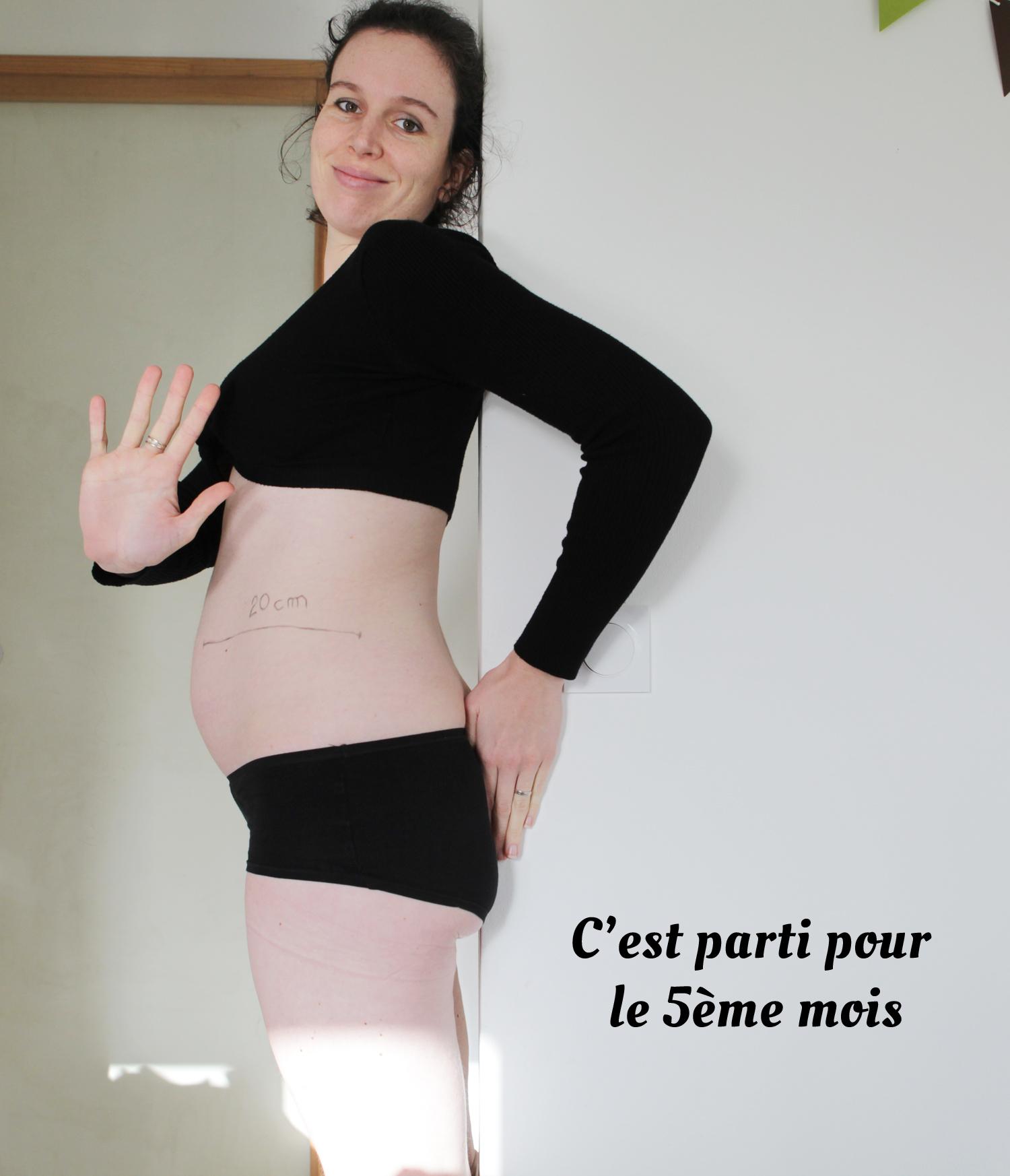 5 mois enceinte et saignant