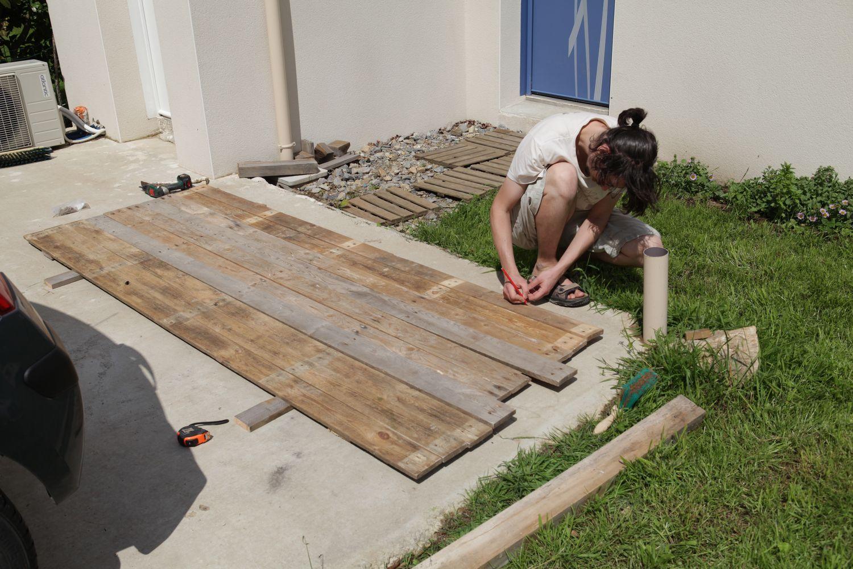 Mot cl maison bbc le blog de fifi et doudou page 2 - Table avec des palettes en bois ...